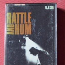 Casetes antiguos: U2 - RATTLE AND HUM - CASETE. Lote 165025741