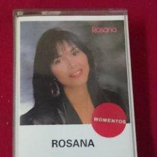 Casetes antiguos: ROSANA - MOMENTOS. Lote 63604344