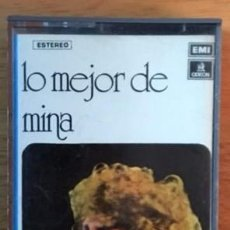 Casetes antiguos: MINA - LO MEJOR DE MINA - 1975. Lote 63813923