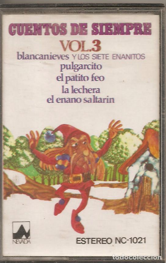 CUENTOS DE SIEMPRE- VOL.3 (Música - Casetes)