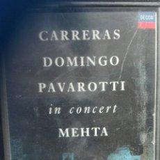 Casetes antiguos: CARRERAS DOMINGO PAVAROTTI. Lote 65668578