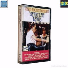 Casetes antiguos: GOOD ROCKIN' TONIGHT / JERRY LEE LEWIS / CINTA CASETE CASSETTE / DITTO (DOLBY SYSTEM). Lote 65836774