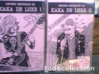 Retoños de kaka De Luxe - Edad de oro 1983- (2 cintas) Radio Futura, Alaska y Dinarama, Paraiso, segunda mano