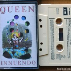 Cassetes antigas: QUEEN - INNUENDO (EMI – 276 7958874 CASETE, 1991). Lote 67131889