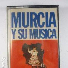 Casetes antiguos: MURCIA Y SU MUSICA - CASSETTE CINTA NUEVO PRECINTADO - HISPAVOX 1980. Lote 69922115