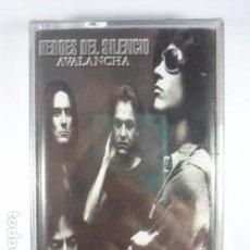 Casetes antiguos: HEROES DEL SILENCIO, AVALANCHA - CINTA CASSETTE NUEVO PRECINTADO - EMI 1995. Lote 68022975