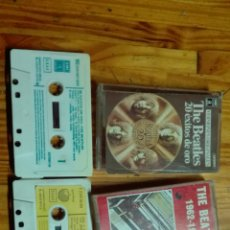 Casetes antiguos: THE BEATLES CASSETTES. Lote 68412293