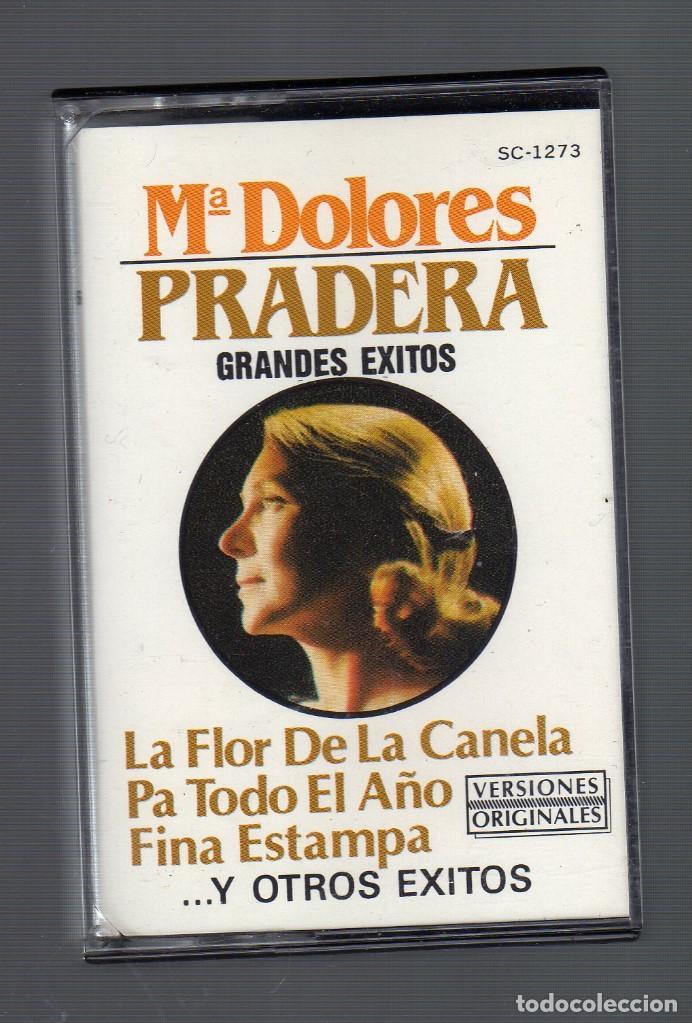 CASSETTE : Mª DOLORES PRADERA (GRANDES ÉXITOS) - ZAFIRO, 1987 - (Música - Casetes)