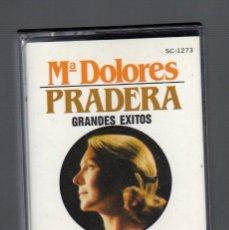 Casetes antiguos: CASSETTE : Mª DOLORES PRADERA (GRANDES ÉXITOS) - ZAFIRO, 1987 -. Lote 68518105