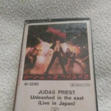 Casetes antiguos: CASETE JUDAS PRIEST LIVE IN JAPAN 1983. Lote 68548677