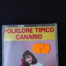 Casetes antiguos: FOLKLORE TÍPICO CANARIO. Lote 68626758