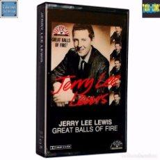 Casetes antiguos: JERRY LEE LEWIS COLECCIÓN 25 SUN RECORDS 56-63 / CINTA CASETE CASSETTE / PLANETA 1991 (DOLBY SYSTEM). Lote 60761427