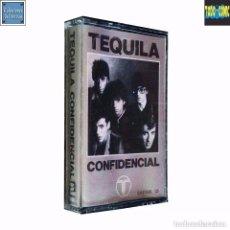 Casetes antiguos: CONFIDENCIAL / TEQUILA / CINTA CASETE CASSETTE / ZAFIRO SERDISCO 1981 (STEREO) PRECINTADO. Lote 71904199