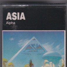 Casetes antiguos: ASIA,ALPHA DEL 83. Lote 194605887