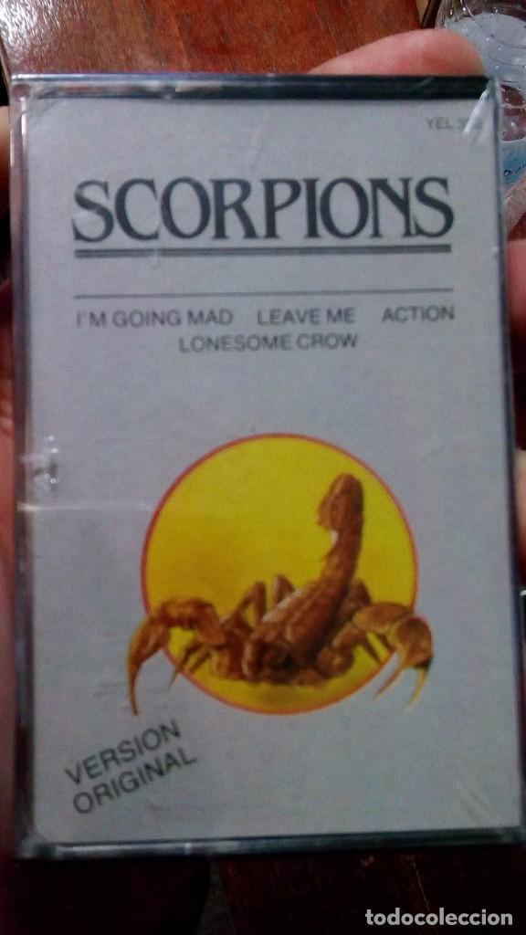 SCORPIONS - I'M GOING MAD (Música - Casetes)