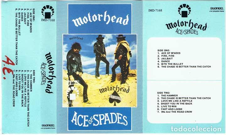 Motorhead - ace of spades - imd 7168 - muy raro - Sold
