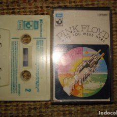 Casetes antiguos: PINK FLOYD - WISH YOU WERE HERE- CASSETTE EMI-HARVEST ESPAÑA. Lote 74900001