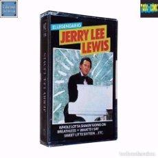 Casetes antiguos: EL LEGENDARIO JERRY LEE LEWIS / CINTA CASETE CASSETTE / EMC DIVUCSA 1987 (STEREO). Lote 74241147