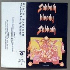 Casetes antiguos - Black Sabbath: Sabbath Bloody Sabbath, Cassette Victoria 50.467. Spain, 1984. - 74947103