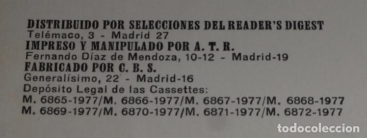 Casetes antiguos: Lo mejor de Ray Conniff - Selecciones del Reader's Digest (1977) - Foto 3 - 75755763