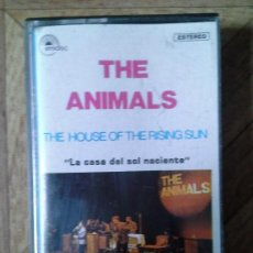 Casetes antiguos - THE ANIMALS - THE HOUSE OF THE RISING SUN - CASETE 1986 - 77318969