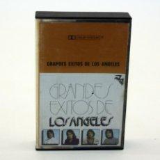 Casetes antiguos: GRANDES EXITOS DE LOS ANGELES - CINTA DE CASSETTE. Lote 77328065