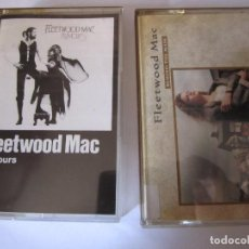 Casetes antiguos: LOTE 2 CASETE FLEETWOOD MAC RUMOURS BEHIND THE MASK. Lote 78125281