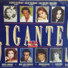 Casetes antiguos: GIGANTES 2. DOBLE MC-BOX / EPIC-SONY MUSIC - 1993 / PRECINTADO.. Lote 79037977