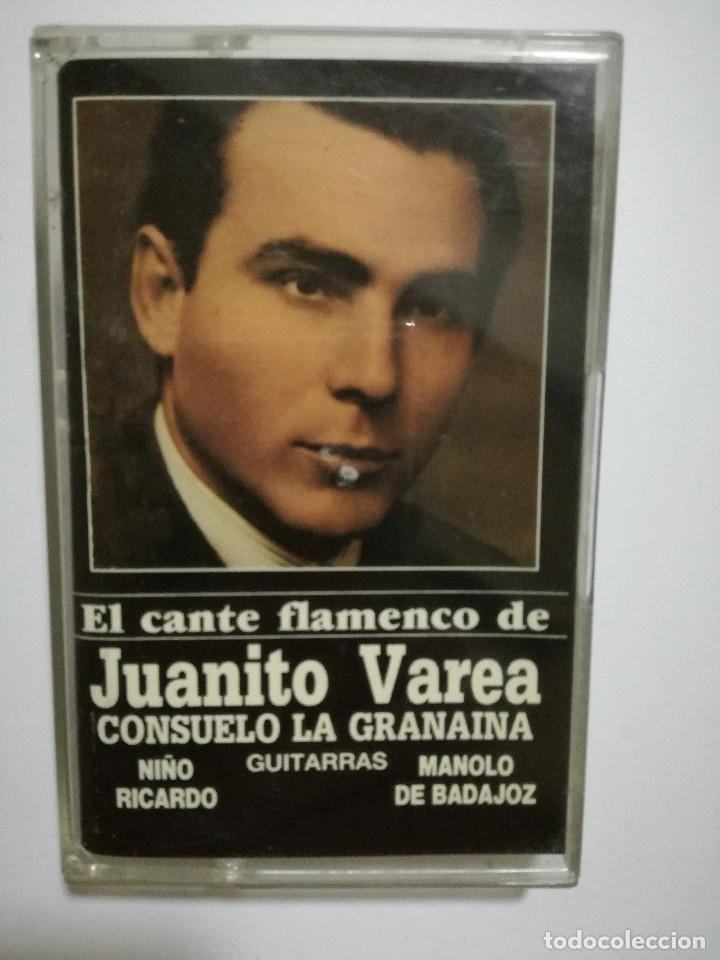 CINTA - CASSETTE - CASET - EL CANTE FLAMENCO DE JUANITO VAREA - OLE 1991 (Música - Casetes)
