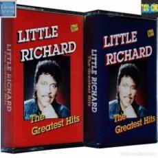 Casetes antiguos: THE GREATEST HITS / LITTLE RICHARD / CINTA CASETE CASSETTE / TRING INTERNATIONAL. Lote 80117277