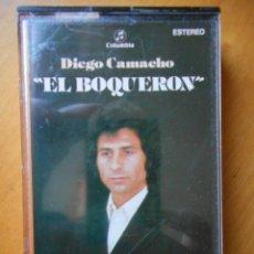 Casetes antiguos: DIEGO CAMACHO 'EL BOQUERÓN'. COLUMBIA. 1981. CASETE -CASSETTE-. BUEN ESTADO. Lote 80302897
