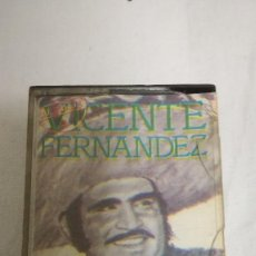 Casetes antiguos: 23-VICENTE FERNANDEZ-HOMENAJE A VICENTE FERNANDEZ POR CHARRO AGUILAR. Lote 80331341