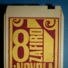 Casetes antiguos: CINTA DE CASSETTE - CASETE - CARTUCHO STEREO 8 PISTAS- BILLY JONES - ZAFIRO 1974. Lote 80537665