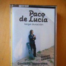 Casetes antiguos: PACO DE LUCÍA. ALMORAIMA. SMASH. 1982. CASETE -CASSETTE-. BUEN ESTADO. Lote 81119644