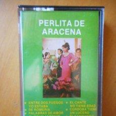Casetes antiguos: PERLITA DE ARACENA. GUITARRA ANGEL MOLINA. PDS. 1977. CASETE -CASSETTE-. BUEN ESTADO. MUY DIFÍCIL. Lote 81131640