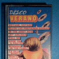 Casetes antiguos: CINTA DE CASSETTE - CASETE - DISCO VERANO - VARIOS ARTISTAS - SONOTREX - 1987. Lote 81242624