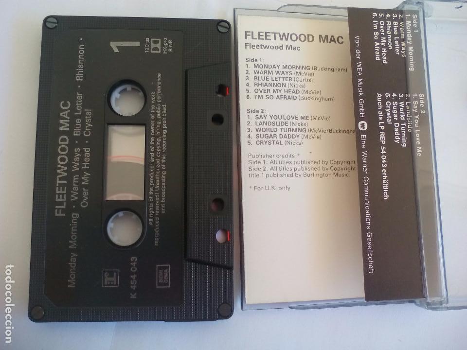 Casetes antiguos: Fleetwood Mac- Fleetwood Mac. 1975 UK. Cassette. Casete - Foto 2 - 81584008
