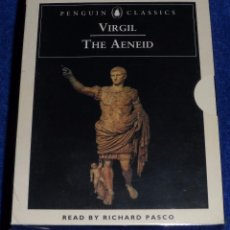 Casetes antiguos: THE AENEID - VIRGILIO - RICHARD PASCO - PENGUIN AUDIOBOOKS (1995) ¡PRECINTADA!. Lote 83023452