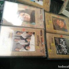 Casetes antiguos: LOTE DE 10 CASSET MUSICA CANARIA DE LA GACETA. Lote 83025400