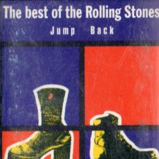 Casetes antiguos: VESIV CASETE THE BEST OF THE ROLLING STONES JUMP BACK. Lote 83345068