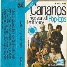 Casetes antiguos: CANARIOS - PÒP TOPS (CASETE CAUDAL 1978). Lote 83513020