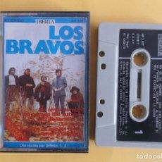 Casetes antiguos: LOS BRAVOS - MUSICA CINTAS CASETE. Lote 83770152