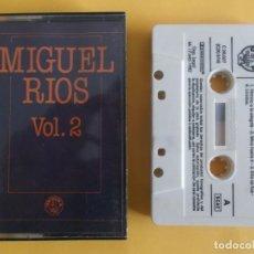 Casetes antiguos: MIGUEL RIOS - SUS EXITOS - MUSICA CINTAS CASETE. Lote 83770472