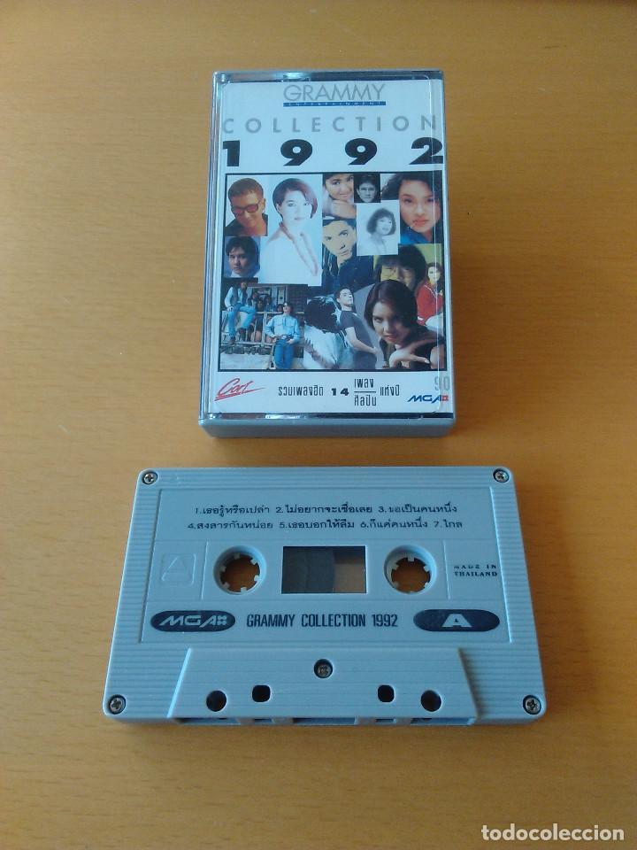 CASSETTE - CASETE - GRAMMY COLLECTION 1992 (MUSICA THAILANDESA ORIGINAL). ESTADO DE LUJO. IMPECABLE. (Música - Casetes)