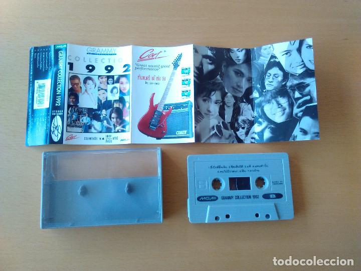 Casetes antiguos: Cassette - Casete - Grammy Collection 1992 (Musica thailandesa original). Estado de lujo. Impecable. - Foto 2 - 83805732