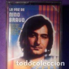 Cassettes Anciennes: CINTA DE CASSETTE - CASETE - LA VOZ DE NINO BRAVO - POLYDOR - 1980 -. Lote 84143848