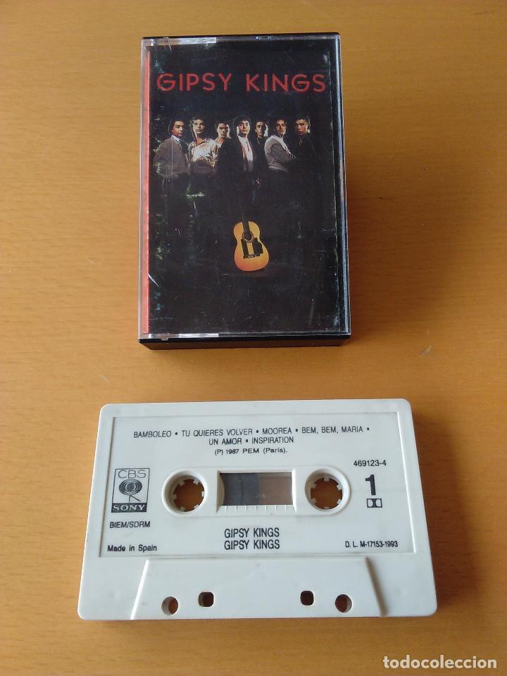 CASSETTE - CASETE - GIPSY KINGS - 1987. CINTA IMPECABLE. CARATULA CON SEÑALES DE USO (Música - Casetes)