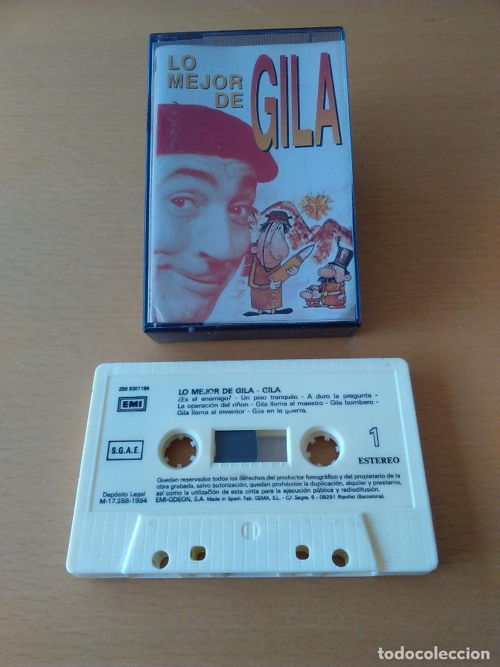 CASSETTE - CASETE - LO MEJOR DE GILA - 1994. CINTA EN ESTADO IMPECABLE. CARATULA CON SEÑALES DE USO (Música - Casetes)
