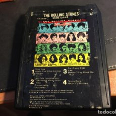 Casetes antiguos: THE ROLLING STONES (SOME GIRLS) CASSETTE 8 PISTAS TRACK (8P). Lote 90495147