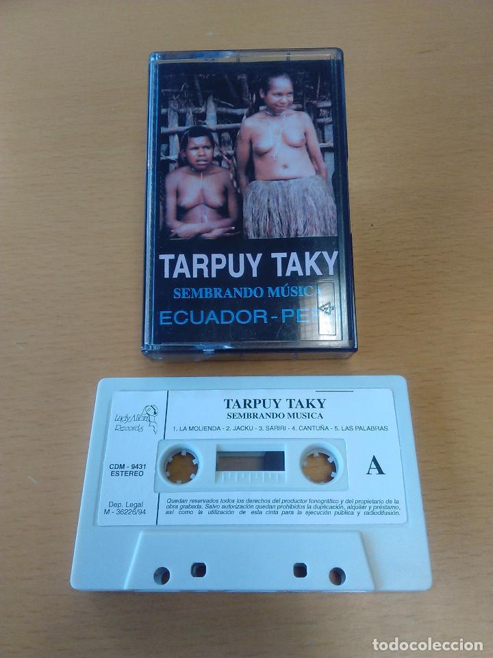 CASSETTE - CASETE - SEMBRANDO MUSICA - TARPUY TAKY (ECUADOR - PERU). ESTADO DE LUJO. A ESTRENAR (Música - Casetes)